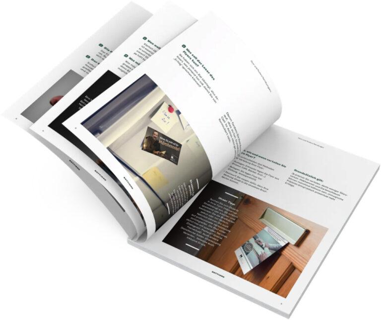 Ratgeber Flyer und Postwurdsendungen für Immobilienmakler